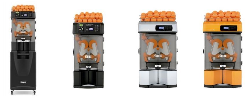 máquinas de suco de laranja